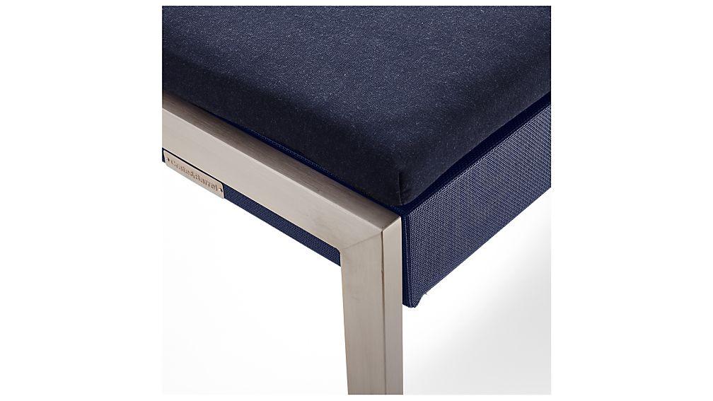 Dune Dining Bench with Sunbrella ® Cushion