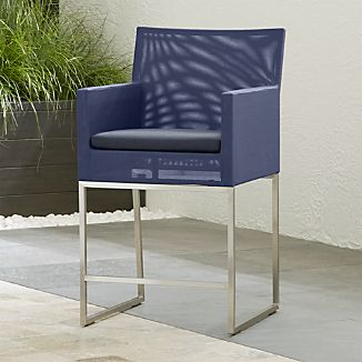 Dune Counter Stool with Sunbrella ® Cushion