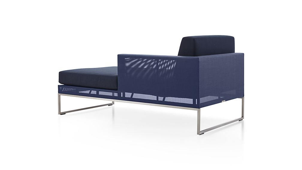Dune Right Arm Chaise with Sunbrella ® Cushions