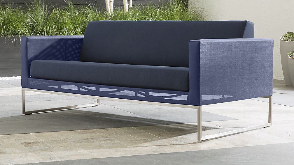 dune sofa with sunbrella cushions