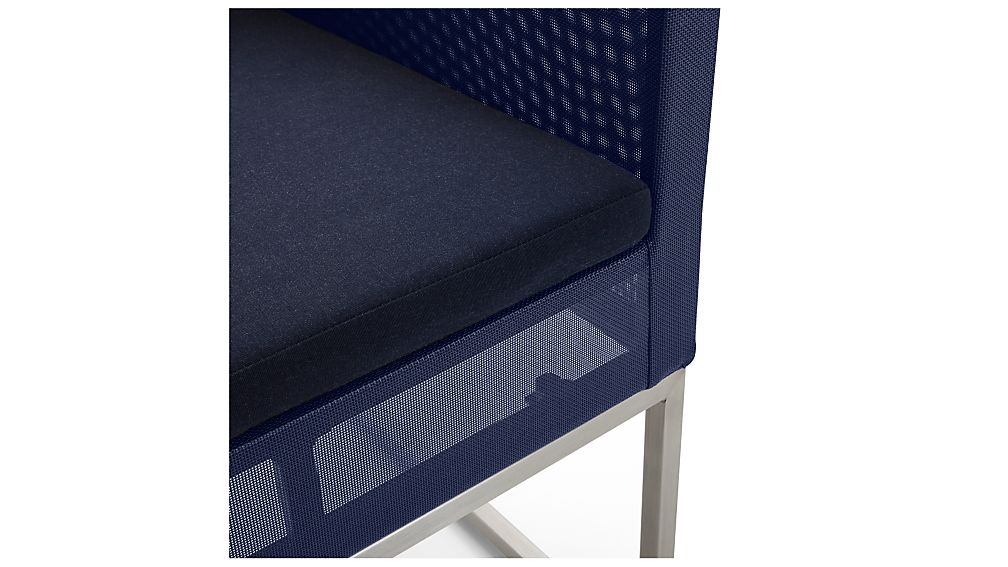 Dune Counter Stool with Sunbrella ® Cushion