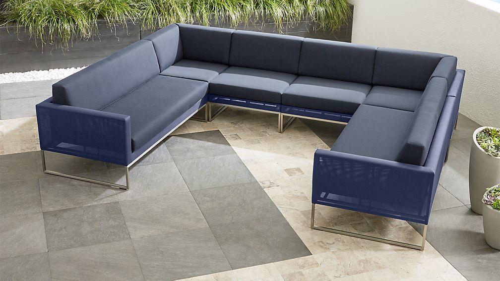 6 Piece Sectional Sofa Tillary 6 Piece Sectional West Elm