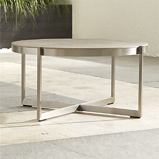 round outdoor coffee table. Beautiful Table Dune Round Coffee Table With Pebbled Glass In Outdoor 3