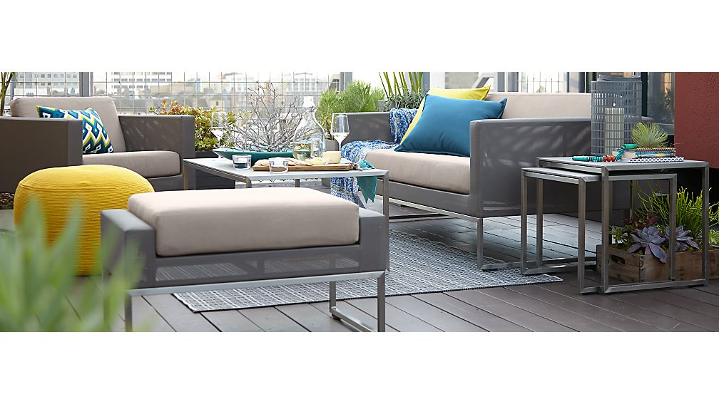 Dune Sofa with Sunbrella ® Cushions