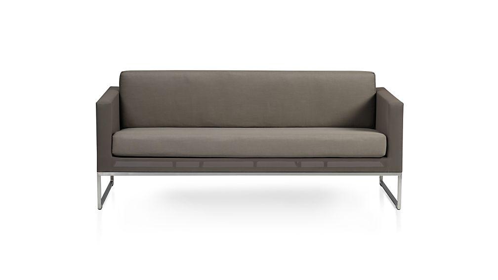 ... Dune Sofa With Sunbrella ® Cushions ...