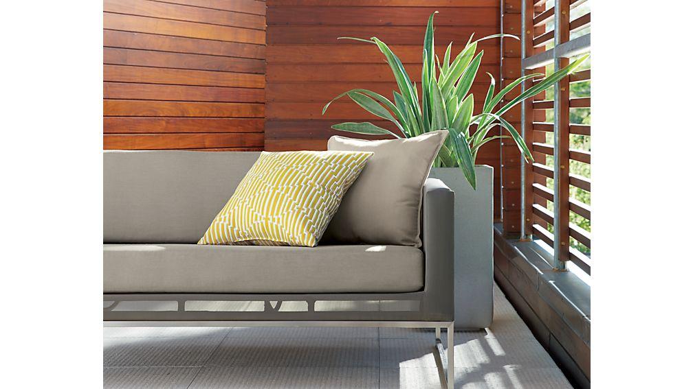 Dune 4-Piece Sectional Sofa with Sunbrella ® Cushions