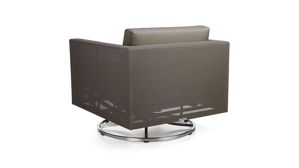 Dune Swivel Lounge Chair With Sunbrella 174 Cushions
