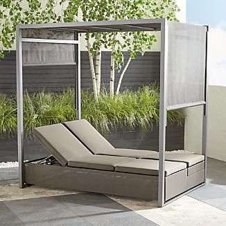 Outdoor Chaise Lounges Crate and Barrel