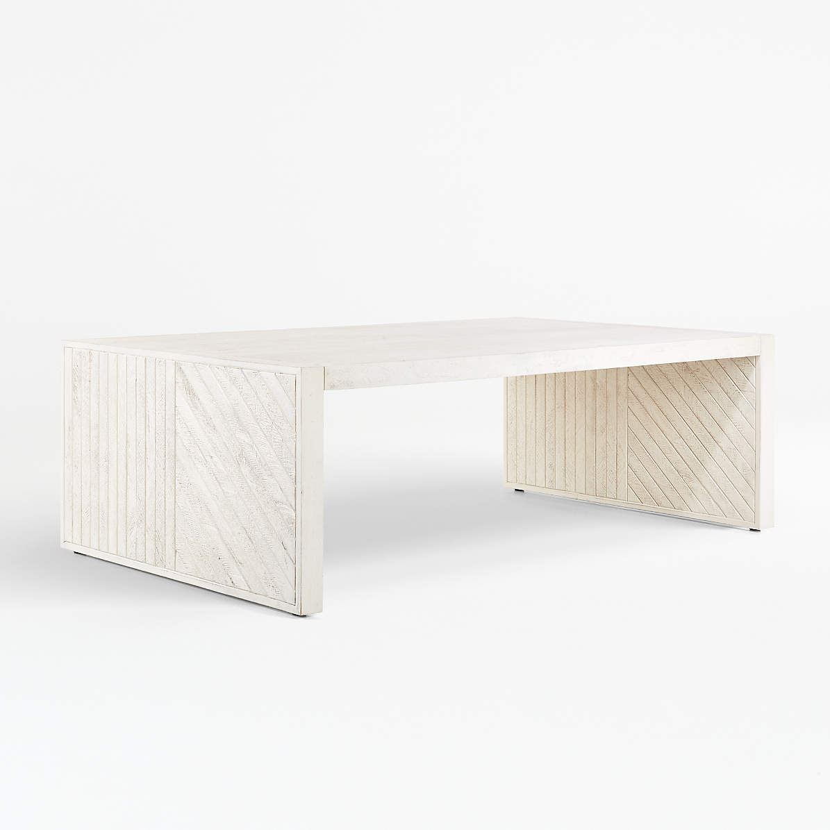 Dunewood Whitewashed Coffee Table Reviews Crate And Barrel Canada