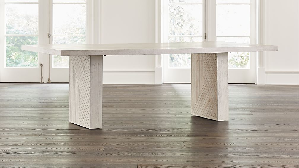 Dunewood Whitewashed Dining Table - Image 1 of 9