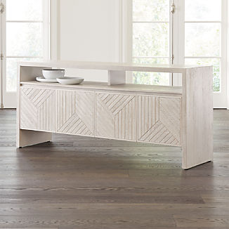 Dunewood Whitewashed Sideboard