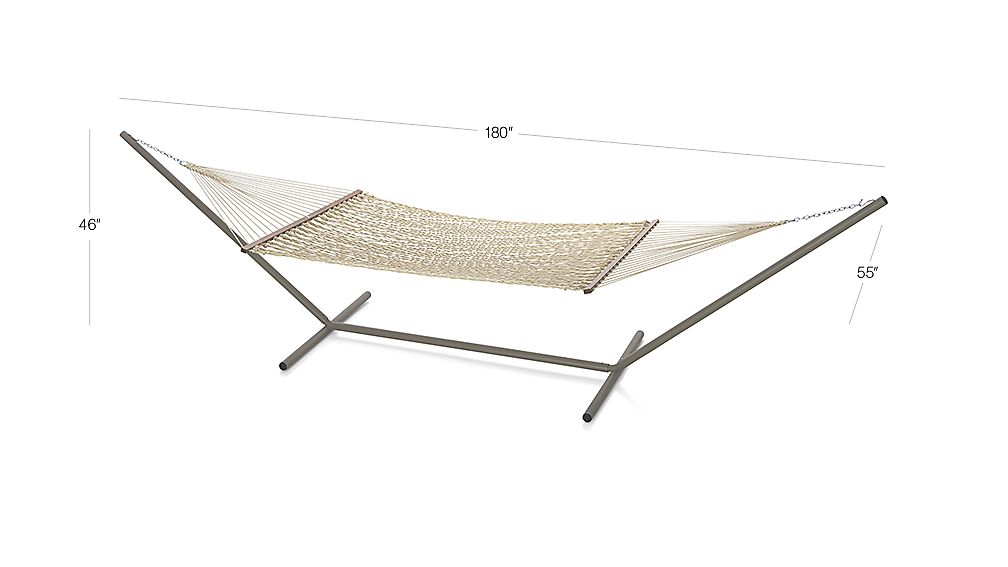charles product coloured hammock dimensions garden cream wooden arc side multi available bentley stand in outdoor or with
