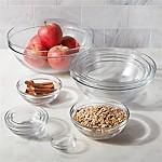 Duralex Glass Bowls, Set of 10