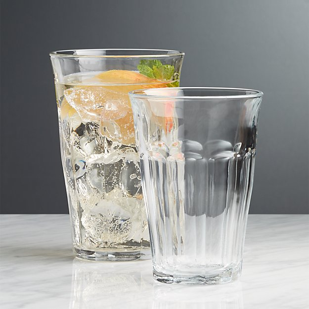 Duralex Picardie Glasses Crate And Barrel