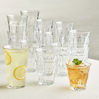 Duralex ® Picardie Glass Tumblers, Set of 18