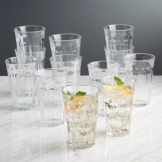 Duralex Picardie 17.5 Oz Glasses, Set of 12 - Image 1 of 2