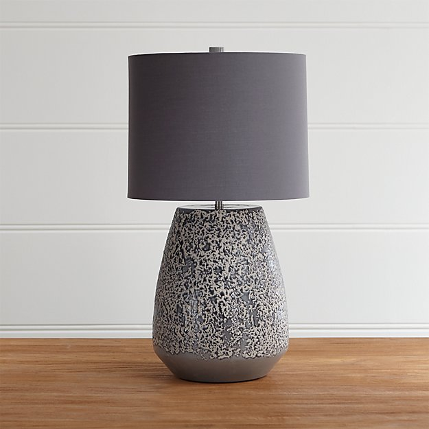 Crate and Barrel Exclusive. Dusk Table Lamp - Dusk Terracotta Lamp Crate And Barrel