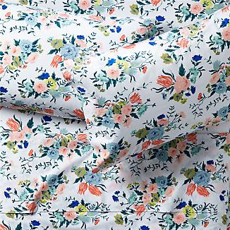 Organic Dutch Floral Sheet Sets