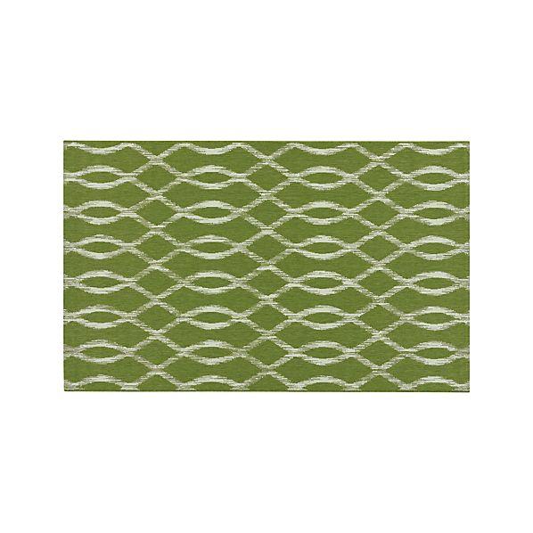Dyna Green Indoor-Outdoor 5'x8' Rug