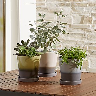 Dyp Two Tone Planters