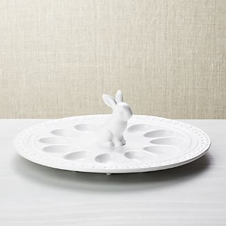 Easter Bunny Egg Platter