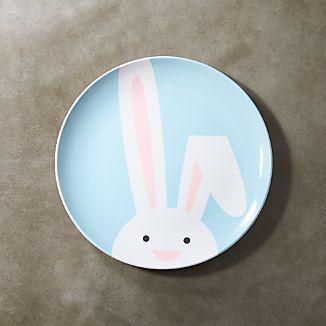 Easter Bunny Melamine Dinner Plate