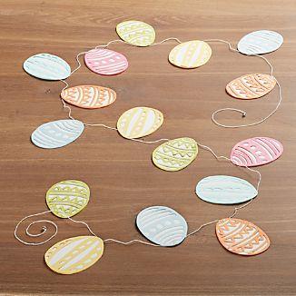 Easter Egg 6' Paper Garland