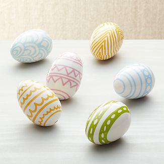 Easter Eggs Set of 6