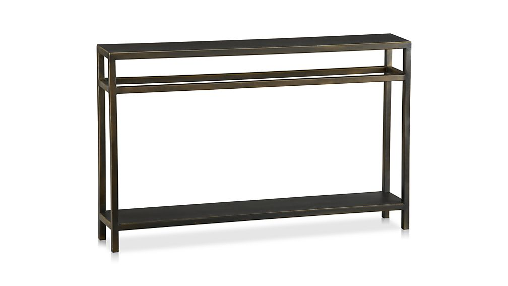 Echelon Narrow Console Table Crate and Barrel