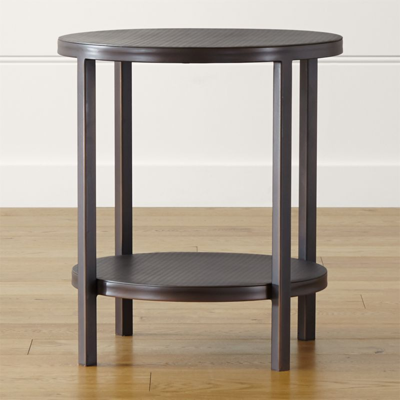 Delightful Echelon Round Side Table