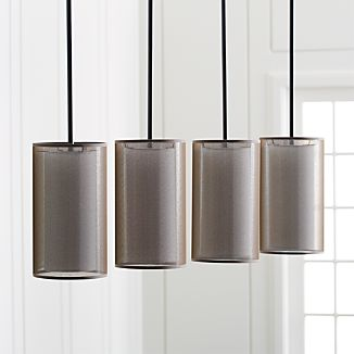 Eclipse Bronze Linear Chandelier