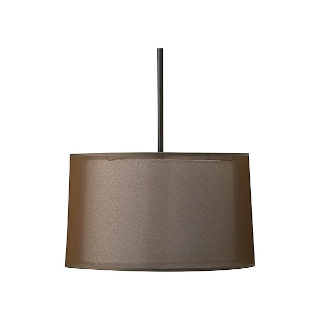 sc 1 st  Crate and Barrel & Eclipse Antiqued Bronze Pendant Light + Reviews | Crate and Barrel