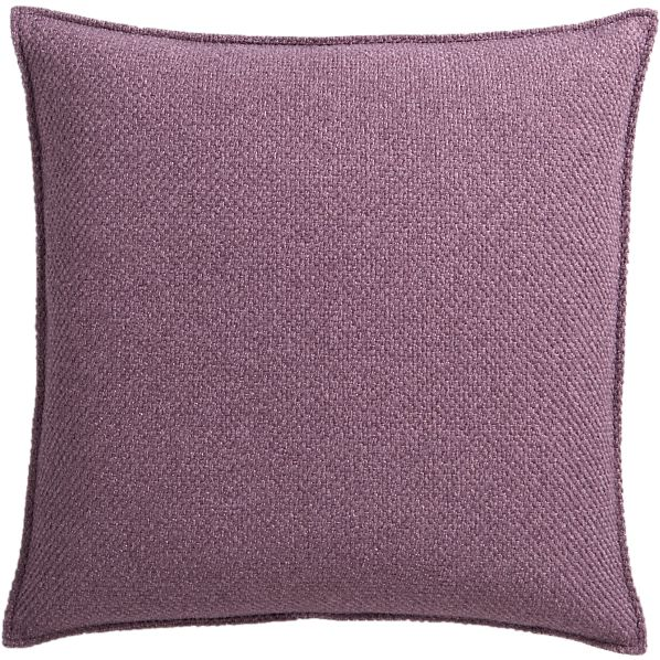 "Eclipse Amethyst 20"" Pillow"