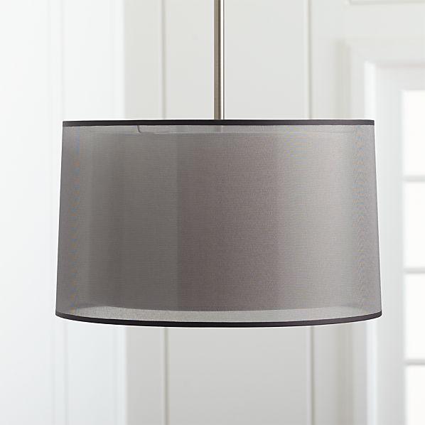 Eclipse Silver Pendant Light