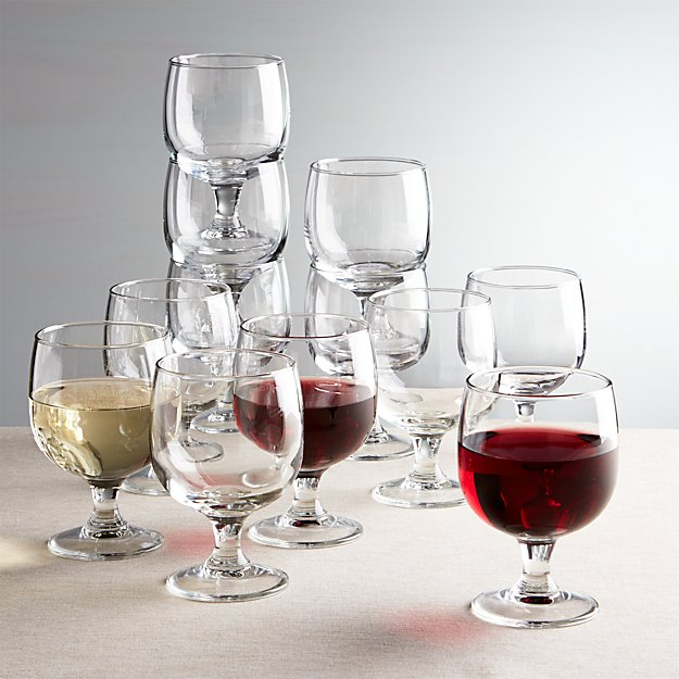 Eddy 11 oz. Everyday  Stacking Glasses, Set of 12