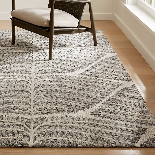 Eden Hand Tufted Wool Rug Crate And Barrel