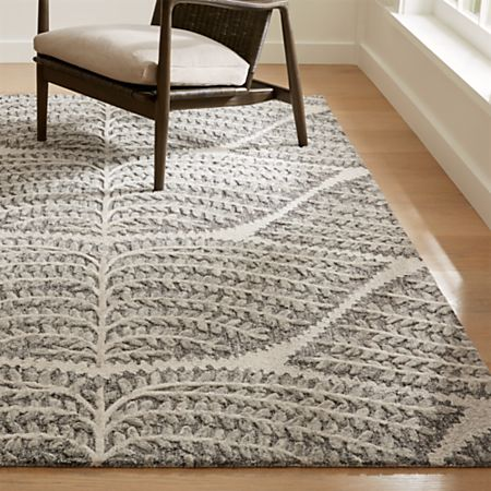 Eden Hand Tufted Wool Rug Crate And