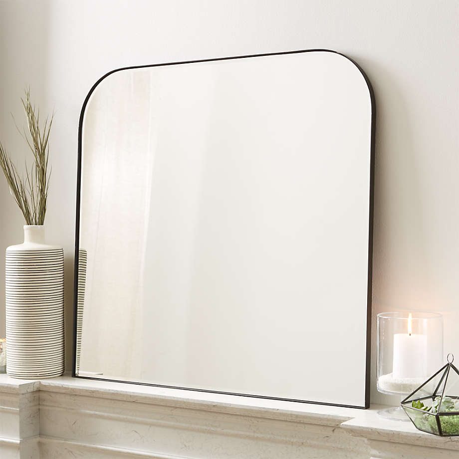 Edge Black Arch Wall Mirror Reviews Crate And Barrel Canada