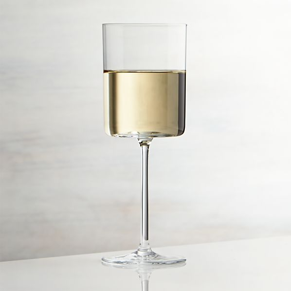 Edge White Wine Glass
