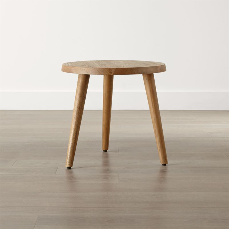 Edgewood Round Side Table Reviews Crate and Barrel