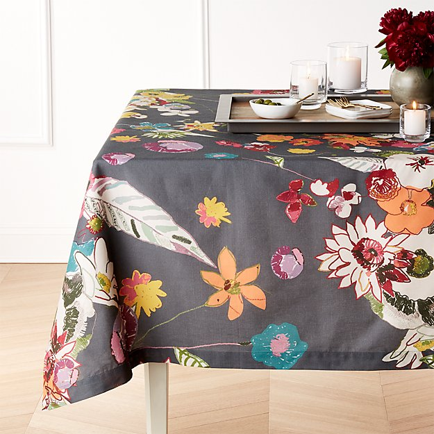 "Efflorescent 60""x144"" Tablecloth"