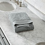 Egyptian Cotton Grey Bath Towel