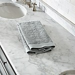 Egyptian Cotton Grey Hand Towel