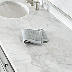 Egyptian Cotton Grey Washcloth