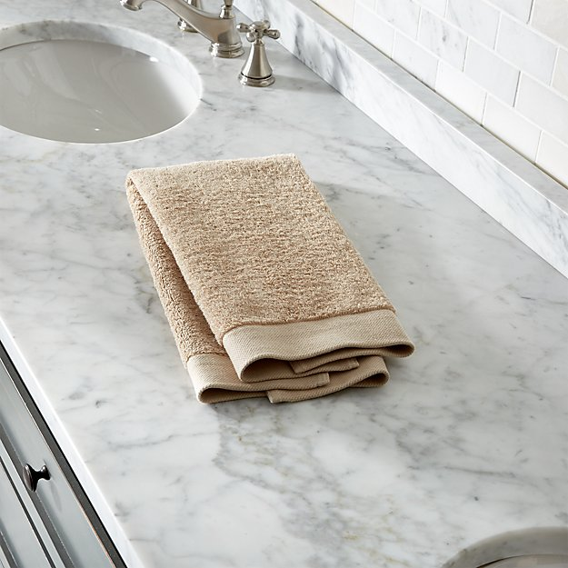 Egyptian Cotton Sand Tan Hand Towel