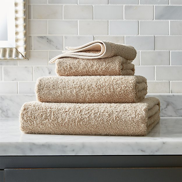 Egyptian Cotton Sand Tan Bath Towels