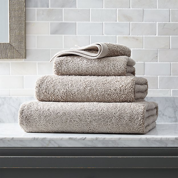 Egyptian Cotton Stone Bath Towels - Image 1 of 3