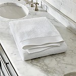 Egyptian Cotton White Bath Sheet