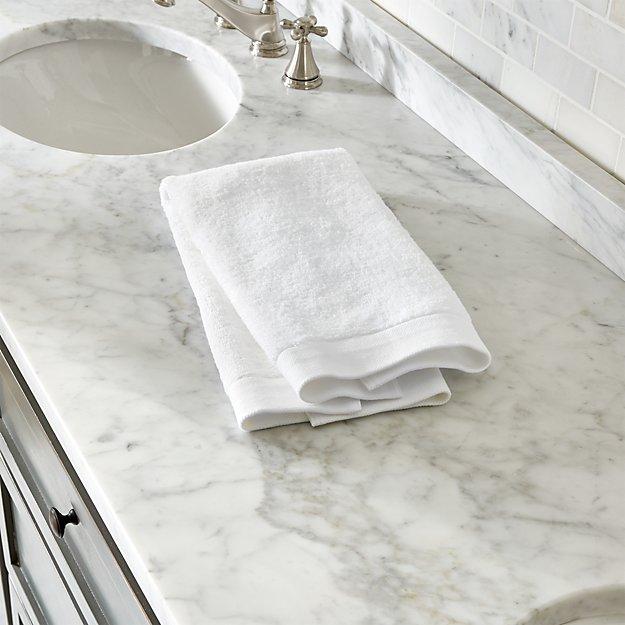 Egyptian Cotton White Hand Towel