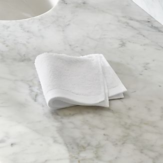 Egyptian Cotton White Washcloth